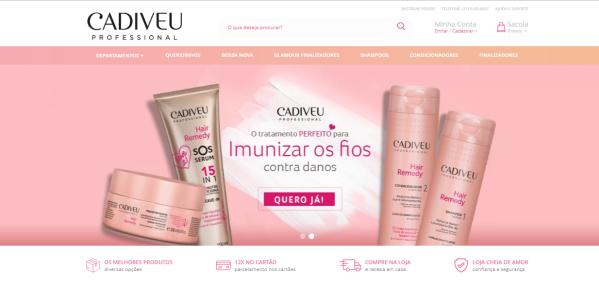 Compre os produtos direto no site